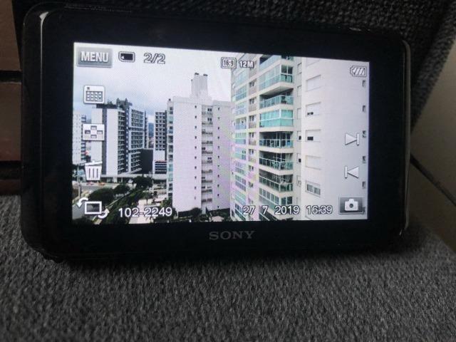 Câmera Sony DSC T110 + Cartão de 4 GB - Foto 3