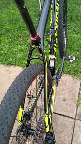 MTB 29 Cannondale Lefty FSI Carbon Parcelo 10x Sem Juros - Foto 4
