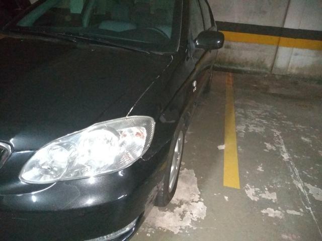 Corolla blindado aut