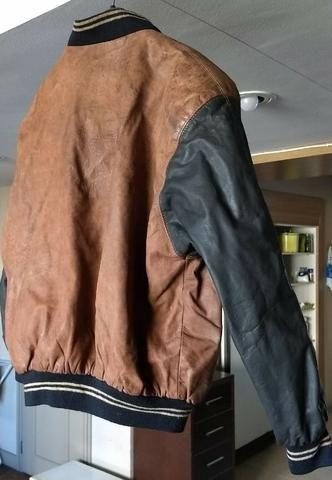 Jaqueta/Casaco de Couro Legítimo Importada da Argentina | Forrada | Tipo Exportação - Foto 3