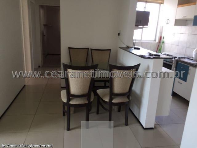 (Cod.:001 - Damas) - Mobiliado - Vendo Apartamento com 3 Quartos, 2 Vagas - Foto 2