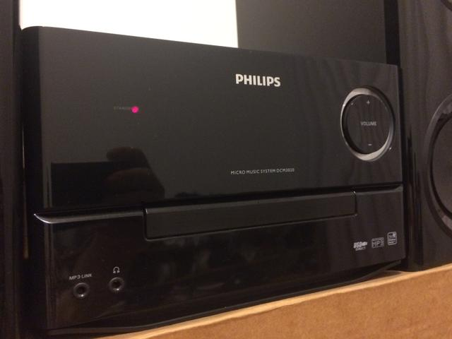 Mini system Philips 120W com Docking Apple - Foto 3