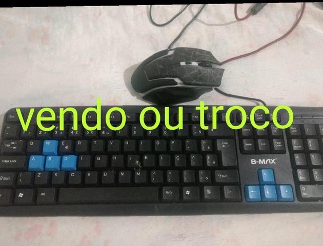 Mouse gamers e teclado