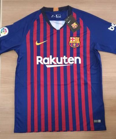 713d8bbb53 Camisa Barcelona Messi - Roupas e calçados - Parque Flamboyant ...