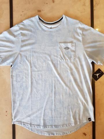Camiseta Nike Air Jordan (Nova com etiqueta) - Roupas e calçados ... 43023bf6662