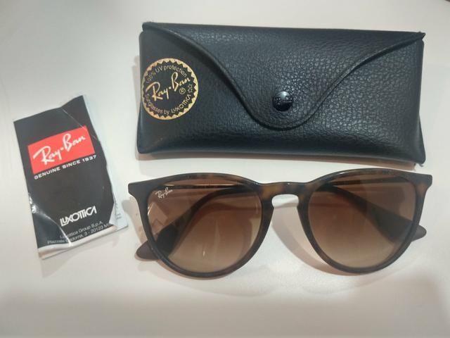 Óculos de Sol Rayban Erika Clássico - Bijouterias, relógios e ... 4edd1c8739