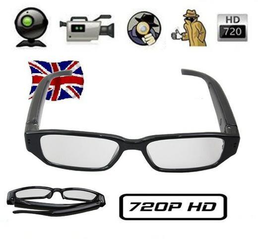 Câmera espiã 8GB Óculos espião - Áudio, TV, vídeo e fotografia ... c06c3d45c7