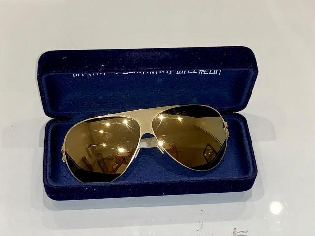 3bde359da12b3 Óculos de sol alemão MYKITA GOLD !! SÓ R  560 - Bijouterias ...