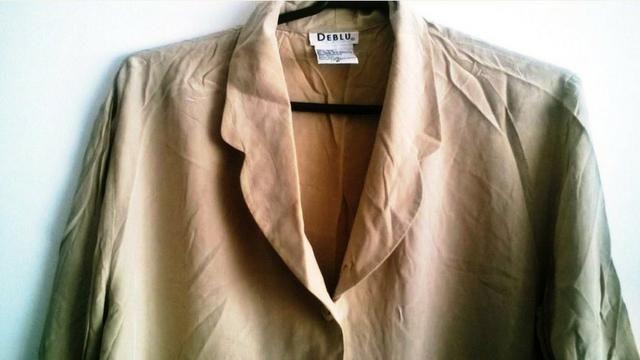 Camisa de Seda Feminina tam P - Roupas e calçados - Centro Histórico ... bede3f01a7ce0