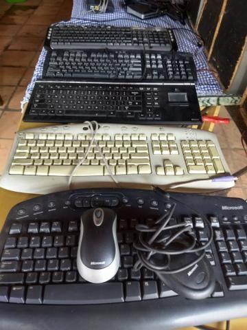 Peças de informática Troco por tv com HDMI - Foto 5