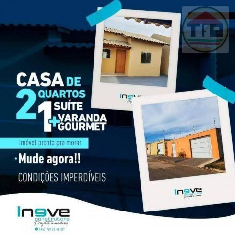 Casa à venda, 62 m² por R$ 145.000,00 - Nova Marabá - Marabá/PA - Foto 12
