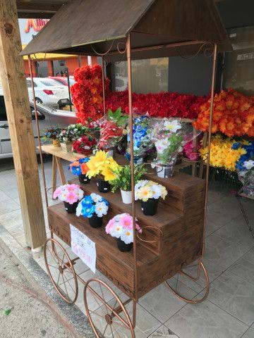 Carrinho de Flores - Foto 3