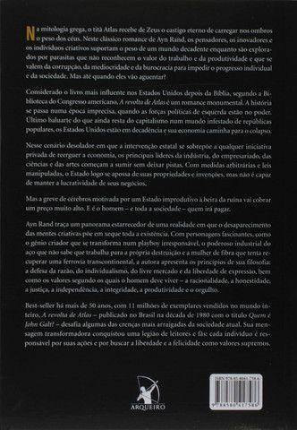 A Revolta de Atlas - Livro Novo e Lacrado! - Foto 4
