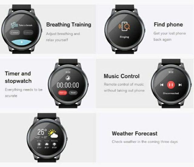 Smartwatch Haylou solar  novo  xiaomi  - Foto 2