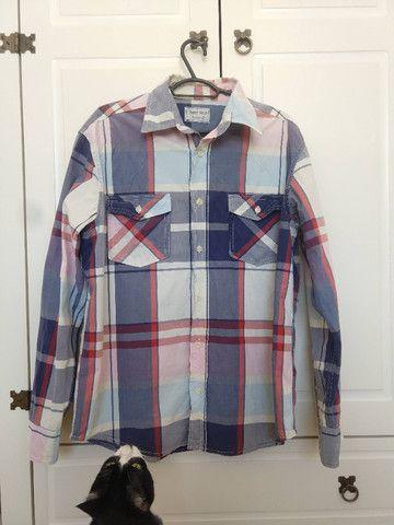 Camisas Xadrez Tam G - Kit com 3 - Ótimo Estado - Foto 3