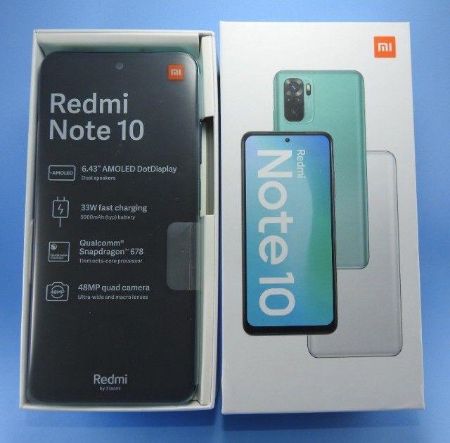 Xiaomi Redmi NOTE 10 4gb 64gb..Lançamento Exclusivo!!