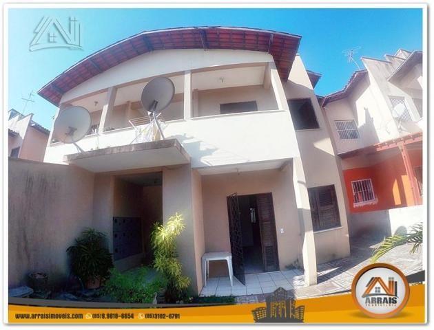 Casa com 2 dormitórios para alugar, 63 m² por R$ 800,00/mês - Maraponga - Fortaleza/CE
