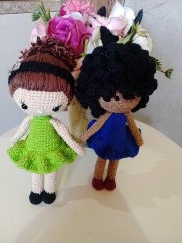 Bonecas em crochê (amigurumi). - Foto 2