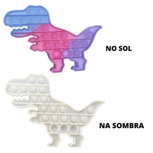 Novidade quebra-cabeça mudança de cor no sol brinquedos sensoriais