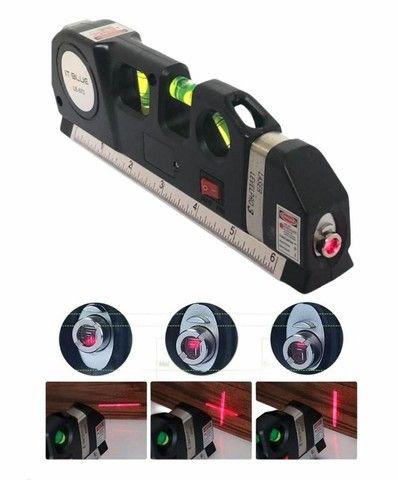 NOVO! Nível a Laser Profissional com Trena - Foto 2