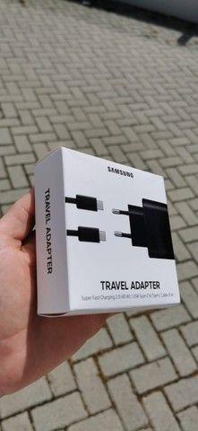 Fonte e cabo Samsung 100% original lacrado!!! - Foto 2