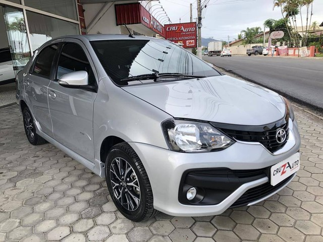 Toyota Etios Platinum Sedan 1.5 Flex 2019 Automático (Top - Na Garantia) - Foto 4