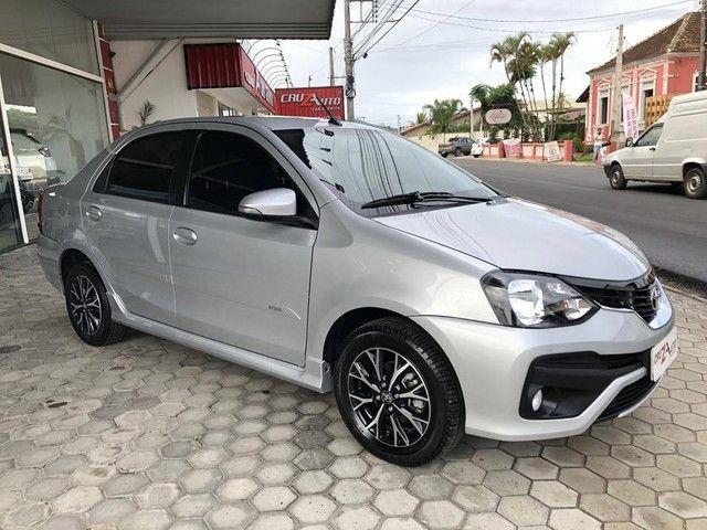 Toyota Etios Platinum Sedan 1.5 Flex 2019 Automático (Top - Na Garantia) - Foto 5