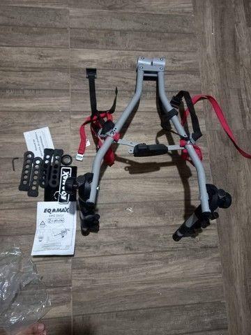 Transbike eqmax easy para 2 bikes. Invista em um produto de qualidade - Foto 3