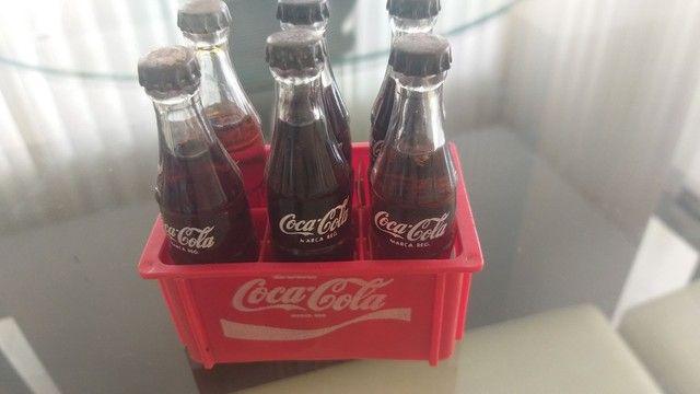 Mini engradado coca cola