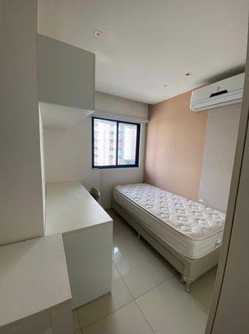 Alugo apt com 2 quartos completamente mobiliado no coração de boa viagem R$:3.500 - Foto 4