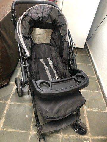 Carrinho Burigotto Primus com bebê conforto e base de carro - Foto 5