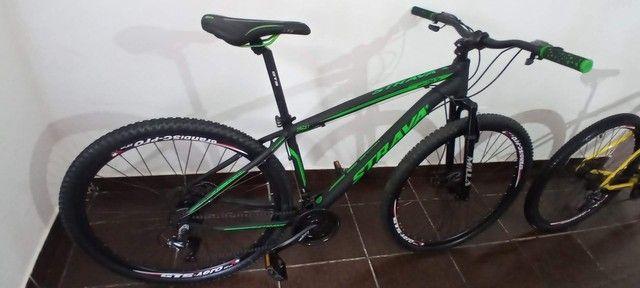 Bicicleta Strava aro 29 Quadro 17 - Foto 6