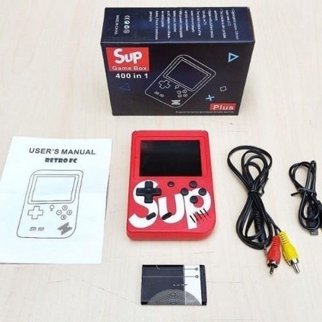 Mini Game Portátil Sup Game Box Plus 400 Jogos Na Memoria - Foto 3