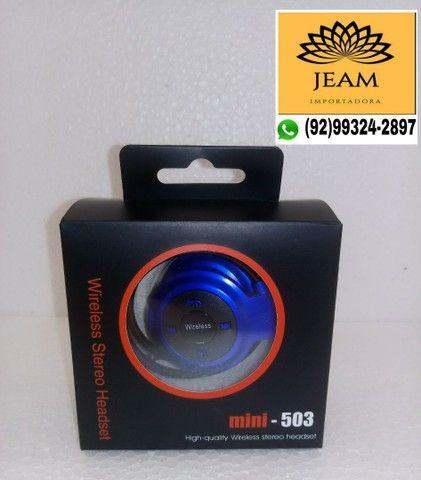 Fone de Ouvido Modelo Mini-503 Bluetooth sem fio - Foto 4