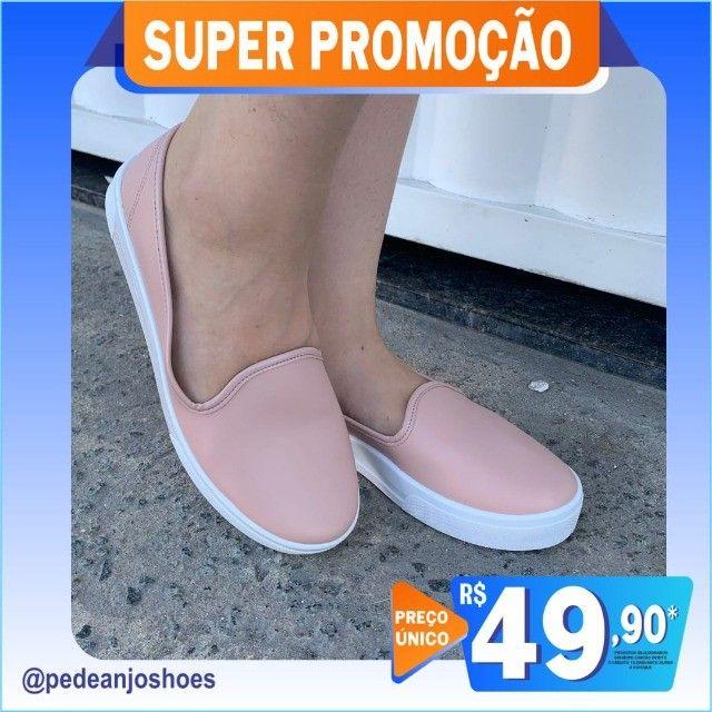 Tênis Feminino Sapatenis Iate Slip On (Novo) - Foto 2