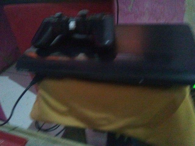 Vendo ou troco Playstation 3 semi novo Ler discriçao - Foto 3