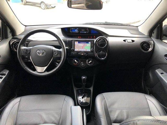 Toyota Etios Platinum Sedan 1.5 Flex 2019 Automático (Top - Na Garantia) - Foto 16