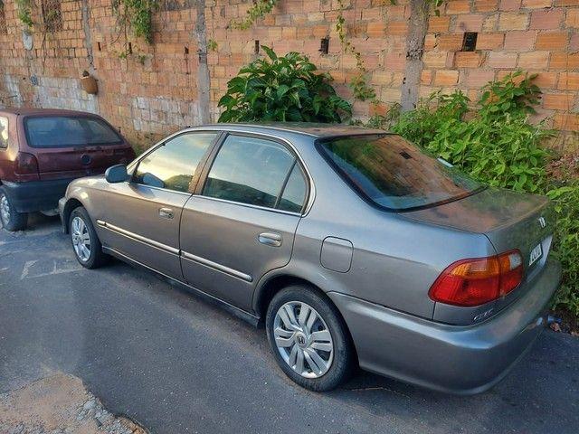HONDA CIVIC LX  AUTOMÁTICO 1.6 00/00 - Foto 4