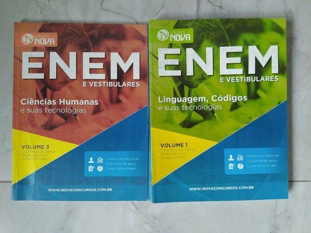 Livros preparatórios para o Enem (Grupo Nova)