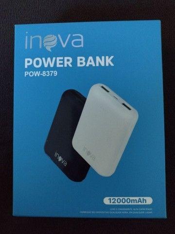 Carregador Portátil  Power Bank 12.000 mha