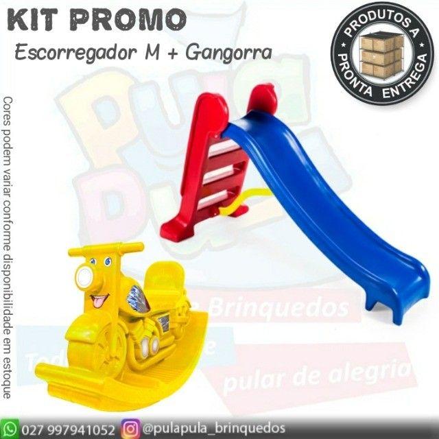 Kit promo(escorregador M+ gangorra) - Foto 5