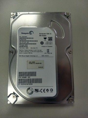 HD Sata 500GB - Foto 2