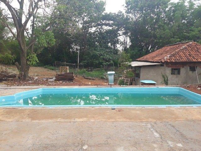 piscina de fibra leds de brinde fibra - Foto 6
