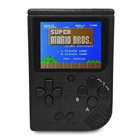 Mini Game Boy retro Portátil 400 Jogos com saida rca
