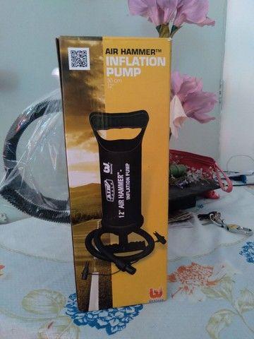 Air hammer inflation  pump