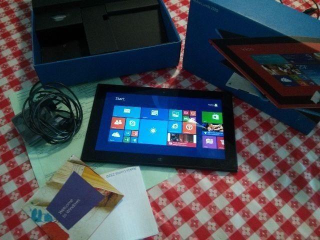 Troco - Nokia Tablet Lumia 2520 Windows 8 com 32gb e 4G na Caixa com NF