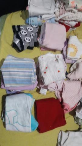Lote roupa de bebe