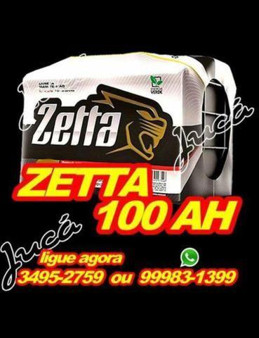 Zetta 100 ah !!! preço mega especial!!! confira