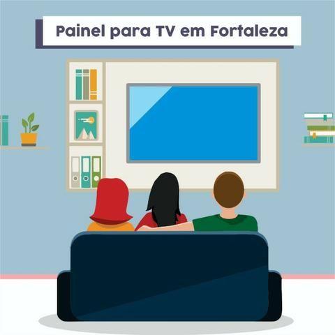 Promoção painel para tv até 43 com entrega e instalação e suporte grátis - Foto 5