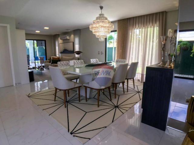 Casa com 3 dormitórios à venda, 337 m² por R$ 2.100.000 - Condomínio Alphaville Fortaleza  - Foto 9